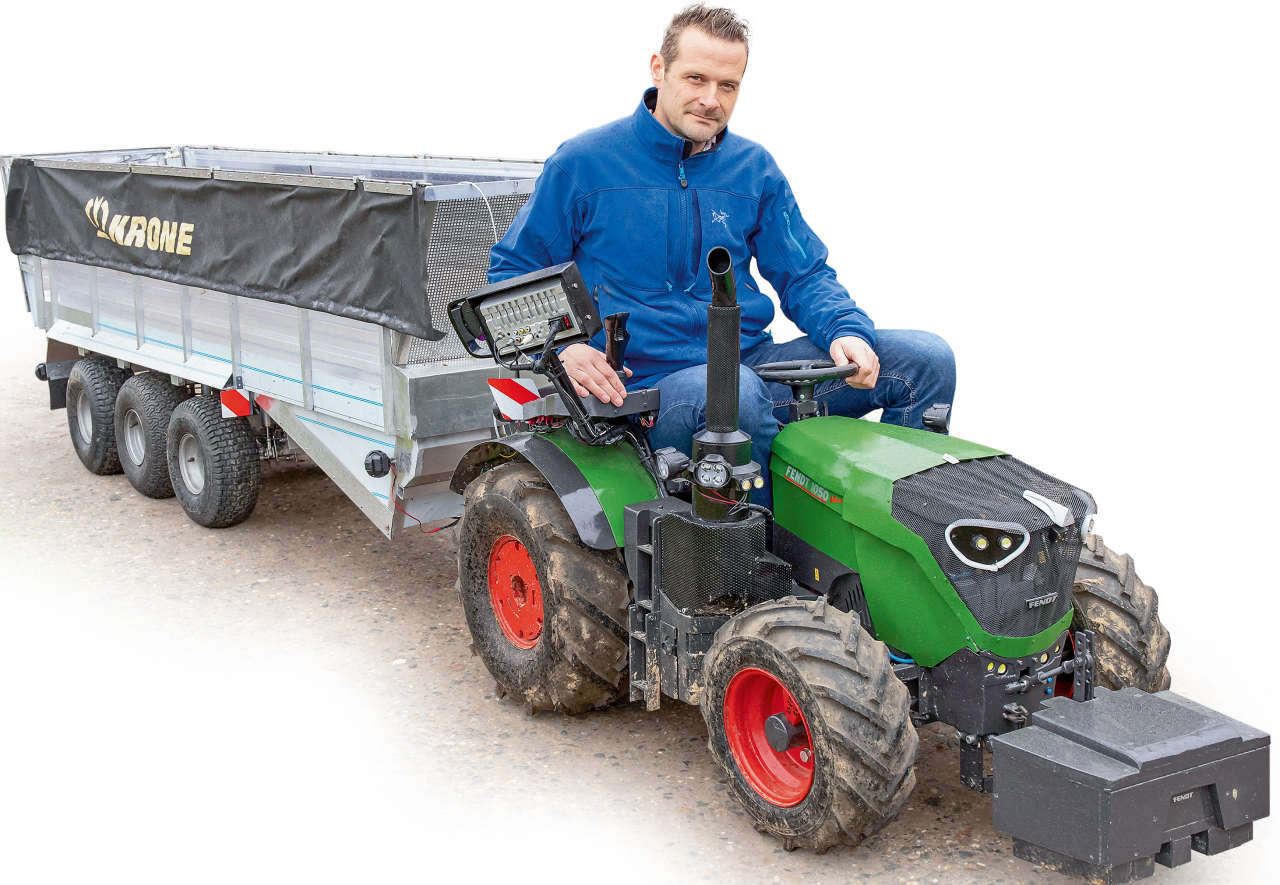 view 23 claas traktor skizze
